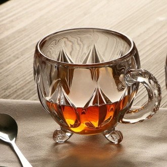 210ml-Crystal-Glass-Tea-Coffee-Water-Cup-Transparent-cup-Home-Milk-flower-tea-Juice-Glasses-Cups